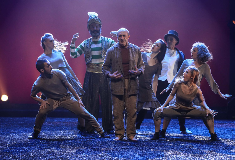 Pepe Viyuela protagoniza «1970 sombreros», homenaje al Circo Price