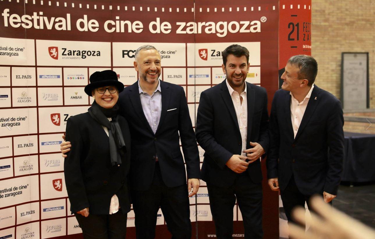 ARTURO VALLS, Premio Augusto Especial Talento Siglo XXI en el Festival de Cine de Zaragoza (FCZ 2016)