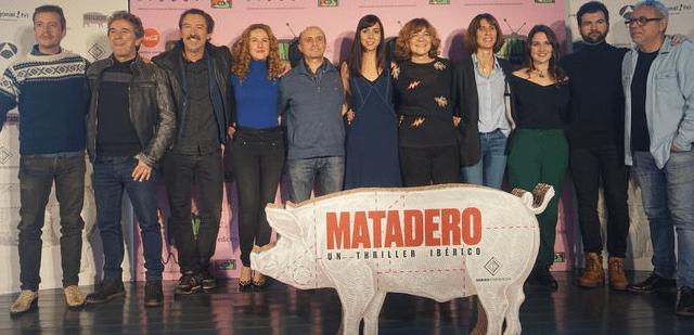 PRESENTACIÓN DE 'MATADERO', NUEVA SERIE DE DIAGONAL TV PARA ANTENA 3 CON PEPE VIYUELA, EN EL MIM SERIES 2017
