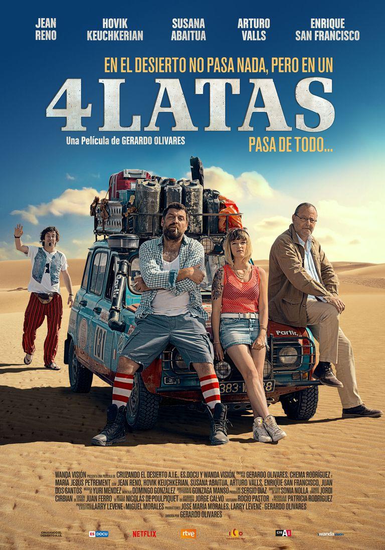 4 LATAS, de Gerardo Olivares y con Arturo Valls en el reparto, se estrena el 1 de marzo